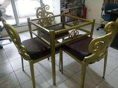 Elegant Fiberglass chair made possible by Fiberworks.