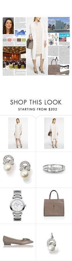 """""""Untitled #2995"""" by duchessq ❤ liked on Polyvore featuring Michael Kors, Chopard and L.K.Bennett"""
