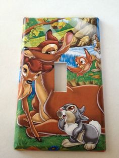 Bambi Light Switch Covers Disney Home Decor Outlet  #Disney