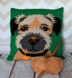 Knitting Pattern PDF Download  Border Terrier by Rubyandthefoxes