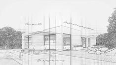 How to Create an Architecture Sketch Effect in Adobe Photoshop Free Adobe Photoshop tutorials and video tutorials for learn how to use photo editing tools, brushes and create amazing photo manipulation, photo effects, text Photoshop Design, Sketch Photoshop, Cool Photoshop, Photoshop Effects, Photoshop Tutorial, Photoshop Actions, Renzo Piano, Photoshop For Photographers, Photoshop Photography