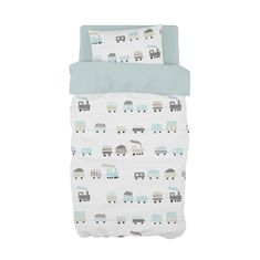 If your little boy is loving trains, then our Choo Choo in Mist Blue is perfect with a touch of grey! Cot Duvet, Sailor Theme, Choo Choo Train, Touch Of Gray, Grey And White, Mists, Trains, Duvet Covers