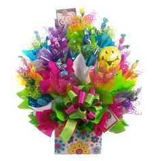 Image detail for -Candy Bouquet Leicester: Dazzling Daisies Candy Bouquet