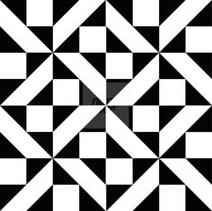 Black And White Pattern - Nanamee