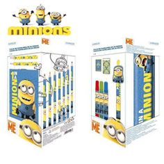 Set rechizite si papetarie Minions Disney Minions, Disney, Bookends, Character, The Minions, Minions Love, Disney Art, Minion Stuff