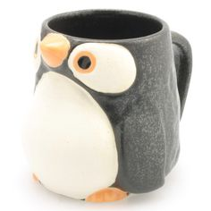Fab.com | Kotobuki Trading Co.: Penguin Mug 9oz Black Set Of 2, at 40% off!
