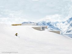 • DIS Project •  ℹ️ The highest spa in the world (2'390 masl) in 📍Disentis, Switzerland   ||   Exterior concept Landscape Planner, Commercial Complex, Northern Italy, Working Area, Business Planning, Over The Years, Switzerland, Architecture Design