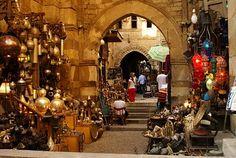 Khan El Khalili Bazaar, Cairo Egypt