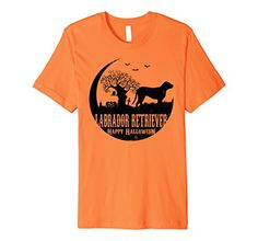 Mens LABRADOR RETRIEVER Dog Halloween Costume T-shirts XL Orange