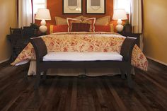 Mohawk Bay Hills Engineered Hardwood Flooring in Amber Sienna Mohawk Hardwood Flooring, Maple Hardwood Floors, Engineered Hardwood Flooring, Funky Bedroom, Bedroom Decor, Bedroom Ideas, Concrete Wood, House Design, Amber