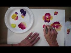 How to Paint PANSIES! | Donna Dewberry (2018) - YouTube