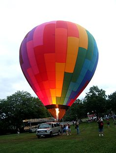 Pittsfield NH Balloon Rally
