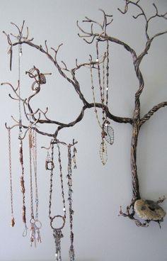 Necklaces like dream catchers