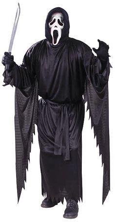 Halloween Ghoul à capuche masque monstre Peur Horreur Costume Robe fantaisie