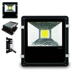 White 50W  LED Flood Light  IP65 (H Series)