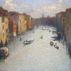The Grand Canal in Venice ヴェネツィアの大運河 - Henri-Jean-Guillaume Martin, 1910. The National Museum of Western Art, Matsukata Collection - Tokyo, Japan. http://collection.nmwa.go.jp/en/P.1959-0133.html