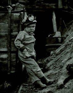The+Little+Coal+Miner+-+Vintage+Print