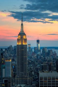 Empire State Building. New York.