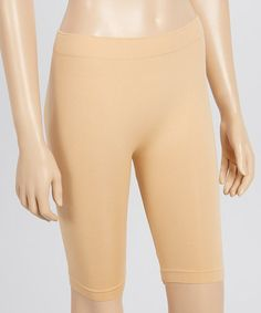Look what I found on #zulily! Nude Seamless Long Shaper Shorts #zulilyfinds