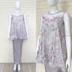 New fashion design skirt ideas Kebaya Lace, Kebaya Hijab, Kebaya Brokat, Kebaya Dress, Batik Kebaya, Kebaya Muslim, Batik Dress, Lace Dress, Batik Fashion