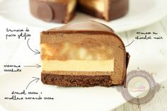 Zumbo's Just Desserts, Layered Desserts, Small Desserts, Fancy Desserts, Vegan Desserts, Gourmet Recipes, Sweet Recipes, Dessert Recipes, Baking Recipes