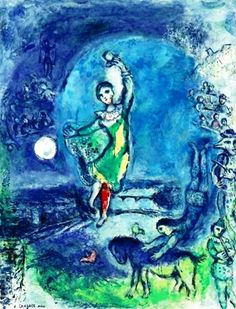 """Marc Chagall """"Great art picks up where nature ends."""" - Marc Chagall."""