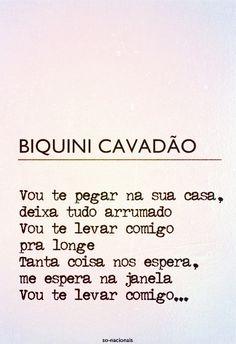 TCHÊ MUSIC.: VOU TE LEVAR COMIGO- BIQUINI CAVADÃO
