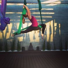 ✨AERIAL✨ Flow with me in the aerial yoga hammock Thursday evenings at 6pm…