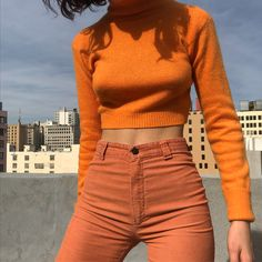 Orange you glad this set is now available on the INSTA section of our site?  Tangerine angora turtle neck is size small and $46+ shipping.…