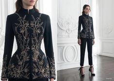Look 11 by Paolo Sebastian Couture AW Pretty Outfits, Pretty Dresses, Beautiful Outfits, Fantasy Dress, Haute Couture Fashion, Juicy Couture, Mode Hijab, Mode Inspiration, Costume Design