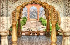 beautiful Indian vignette