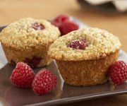 Recettes Québécoises.com - Muffins à l'avoine et aux framboises