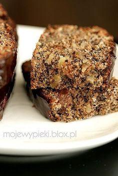 Ciasto otrębowe Cake Recipes, Snack Recipes, Dessert Recipes, Cooking Recipes, Snacks, Polish Desserts, Polish Recipes, European Dishes, Coconut Cookies