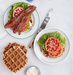Bacon makes everything taste better, so why not put it on a waffle sandwich? Get the recipe for  Waffle BLTs »  - GoodHousekeeping.com