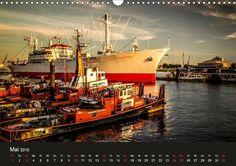 Stadt Hamburg - CALVENDO Kalender von Thomas Deter #hamburg #hafen #kalender #calvendo