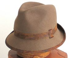 Felt Fedora Hat men Fall Fashion Winter by katarinacouture on Etsy, $50.00