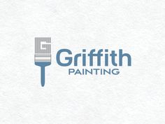 Dribbble - Griffith Painting Logo by Jeff Jenkins
