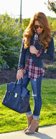 Daily New Fashions: Best Women's Street Fashion Inspiration And Looks