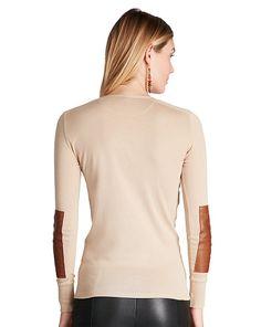 T-shirtà col tunisien - Manches longues T-shirts & Hauts - Ralph Lauren France