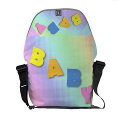 BABY Diaper Messenger Bag