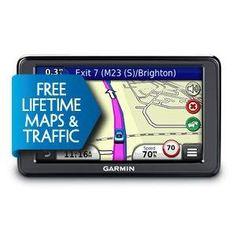 Garmin Nuvi 2595LMT GPS Satnav 5-inch screen European maps ONLY, Voice activation, 3D traffic, Lifetime maps and traffic, Guidance 2, Lane Assist