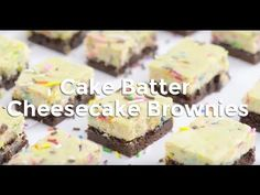 Cake Batter Cheesecake Brownies Recipe - Tablespoon.com