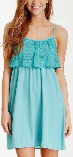 Gorgeous Little Strapless Summer Dress find more women fashion ideas on www.misspool.com