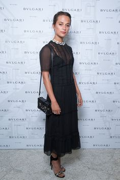 Alicia Vikander in Louis Vuitton