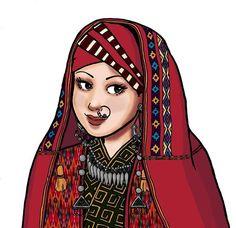 Photo: Uzbek woman of the Karakalpak