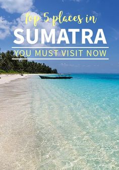 Sumatra's top 5 places you must visit as soon as possible, before they get too touristy or animals get extinct. Beautiful Places To Visit, Cool Places To Visit, Places To Travel, Places To Go, Kids Places, Backpacking Asia, Malaysia Travel, Blog Voyage, Bali Travel