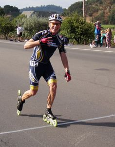 Blair Atwell takes a 4th place finish in the 2012 Napa Valley Roadskate Marathon. Great job!