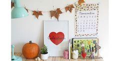 Descargable gratuito del mes de #Noviembre en nuestra web! #calendario #hojassecas #otoño #buenosdias #pinterest