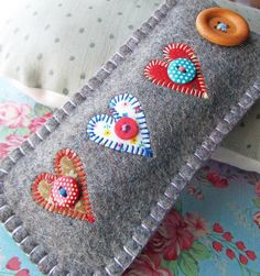 Glasses Case - detail by suezybees, via Flickr