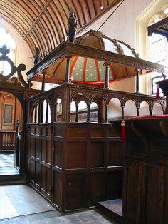 15th century Rycote (Chantry) Chapel, Oxfordshire by Martin Beek, via Flickr